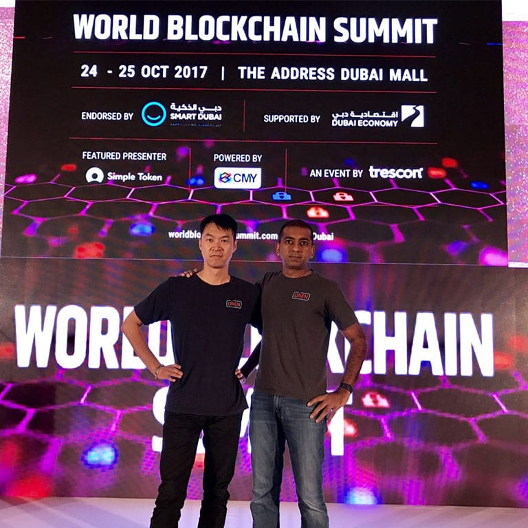 Project PAI Wins Regional Startup Competition at World Blockchain Summit in Dubai